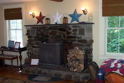 Vermont Ski House Wood Stove