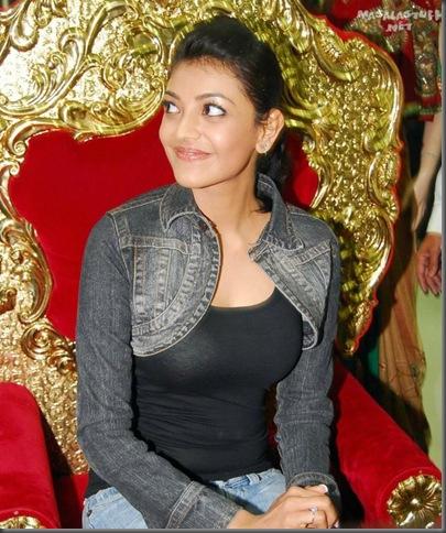 2Kajal Aggarwal in tight tops