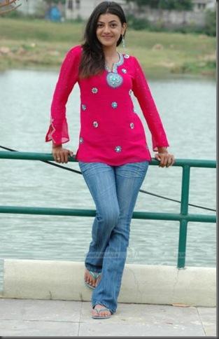 3Kajal Aggarwal in tight tops