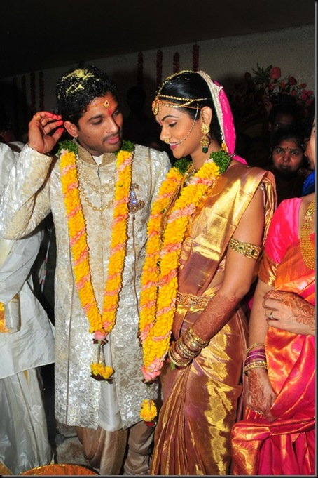 Allu Arjun Sneha Reddy wedding stills11