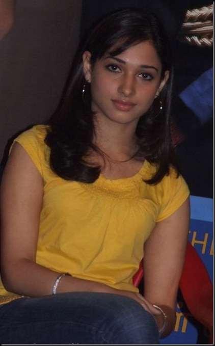 TAMANNA IN YELLOW DRESS, TAMANNA BOOBS VISIBLE STILLS_09