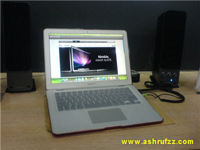 MacBook Air at Low Yatt