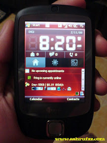 My HTC Touch