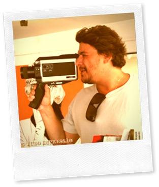 Natal com a filmadora antiga
