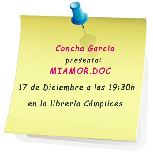 presentación Concha García