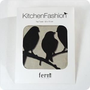 Lovebirds Kitchen Tea Towel2