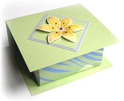 ORIGAMI BOX WITH WRAP LID magic boxes