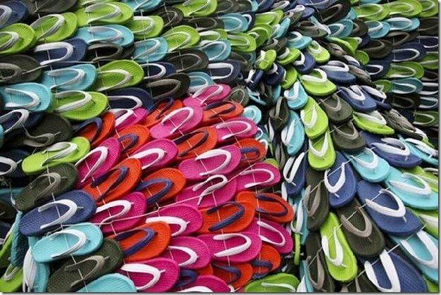 arte con sandalias cosasdivertidas (3)