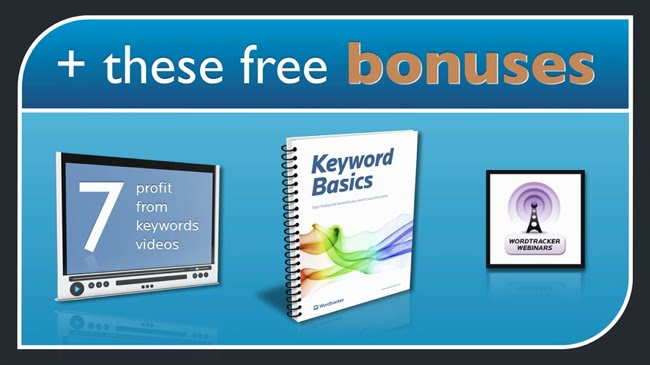 Wordtracker trial free bonuses