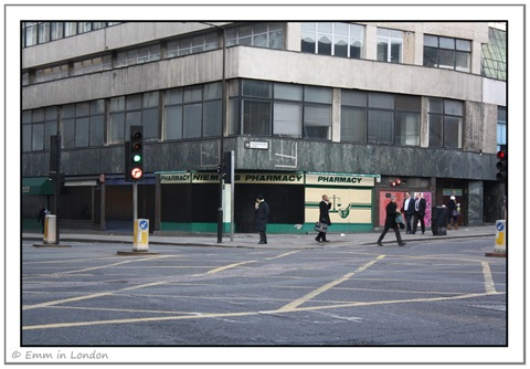 Boarded up Pharmacy - Smithfield