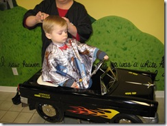 Collin's first big boy haircut 017