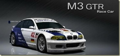BMW M3 Race Car