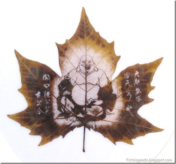 Desenho em folhas secas (10)