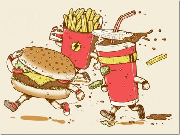 Fast Food Literalmente