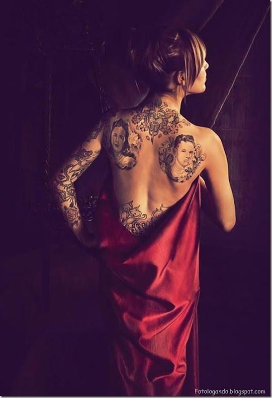 Compilação de meninas com tatuagens (25)