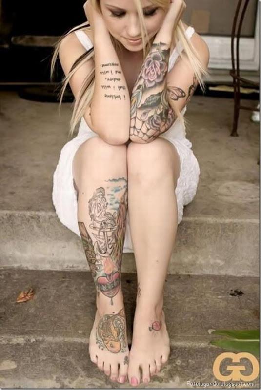Compilação de meninas com tatuagens (14)