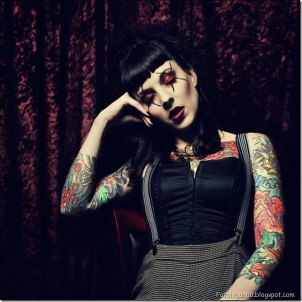 Compilação de meninas com tatuagens (9)