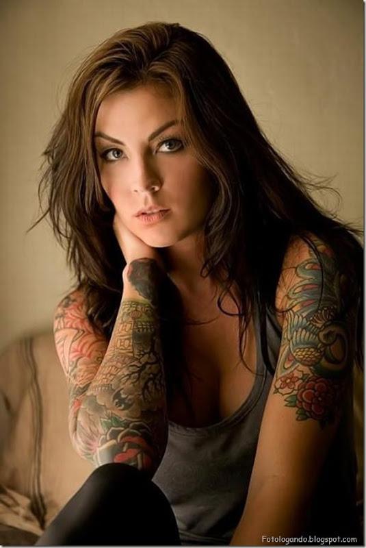 Compilação de meninas com tatuagens