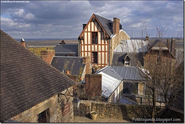 Mont Saint Michel, a cidade no meio do mar (6)