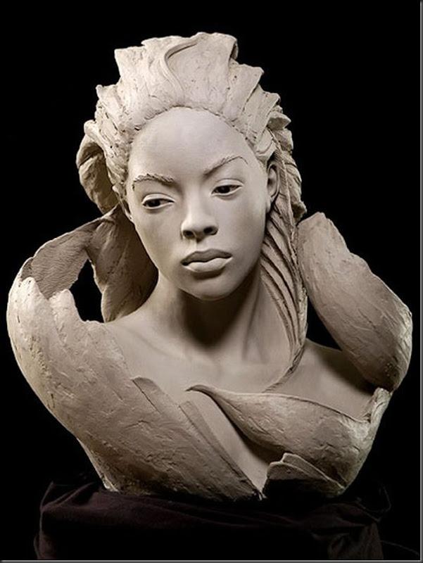 Esculturas Faciais de Philippe Faraut (1)
