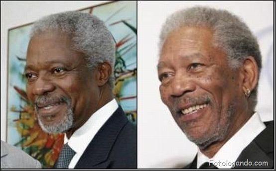 Kofi Annan Morgan Freeman