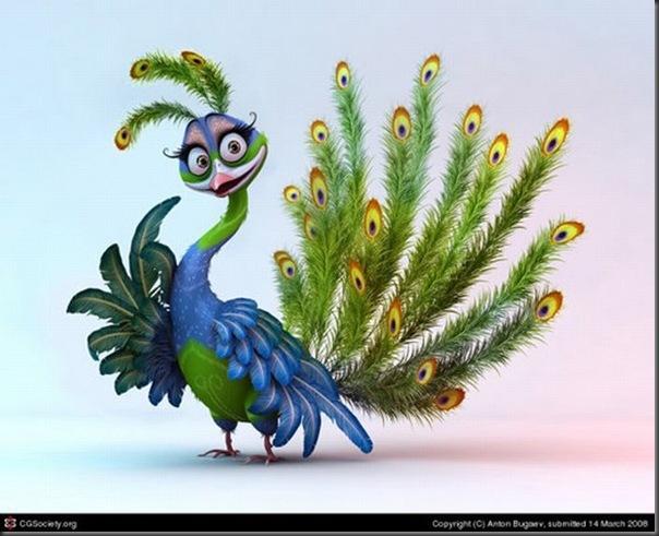 Criaturas divertidas em 3D (36)