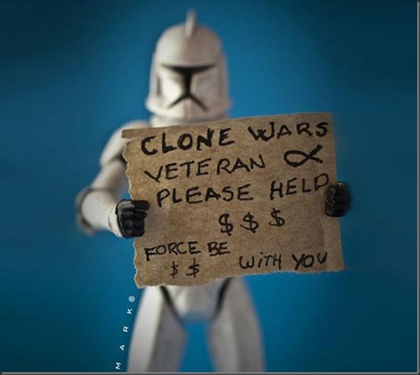 A vida secreta dos brinquedos Star Wars