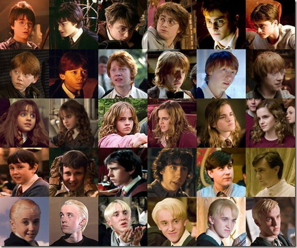 Harry Potter personagens