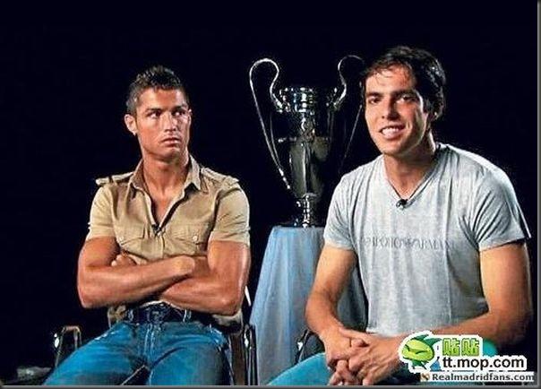 A bela amizade de Cristiano Ronaldo e Kaká (19)