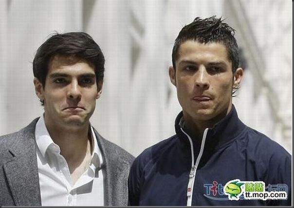 A bela amizade de Cristiano Ronaldo e Kaká (15)