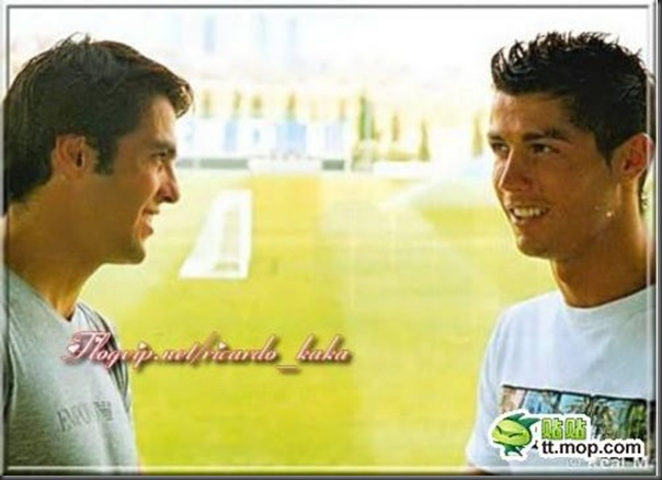 A bela amizade de Cristiano Ronaldo e Kaká (12)