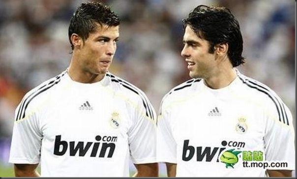 A bela amizade de Cristiano Ronaldo e Kaká (7)