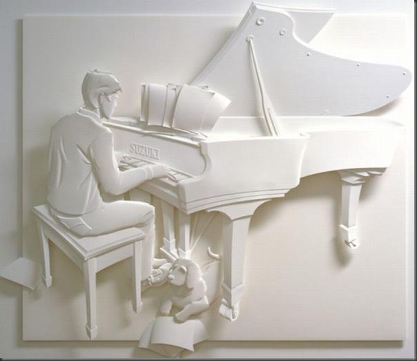 Lindas esculturas de papel (9)