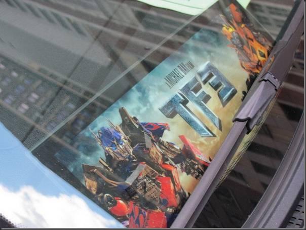 Fotos da filmagens de Transformers 3
