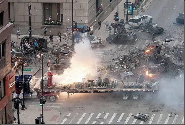 Fotos da filmagens de Transformers 3 (28)