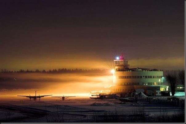 Vista aérea de pistas de aeroportos (20)