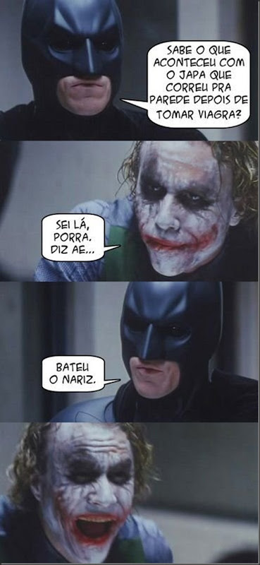 Batman e a piada do Japa
