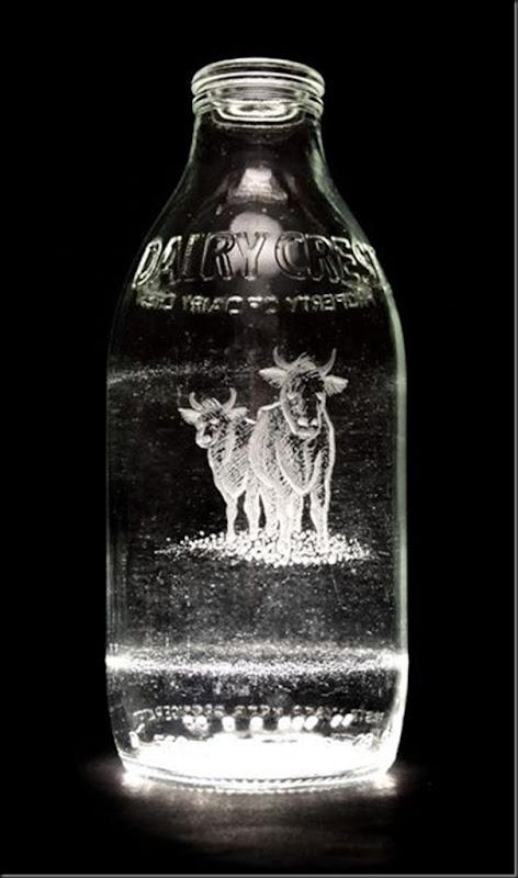Arte na garrafa de leite por Charlotte Hughes-Martin (24)