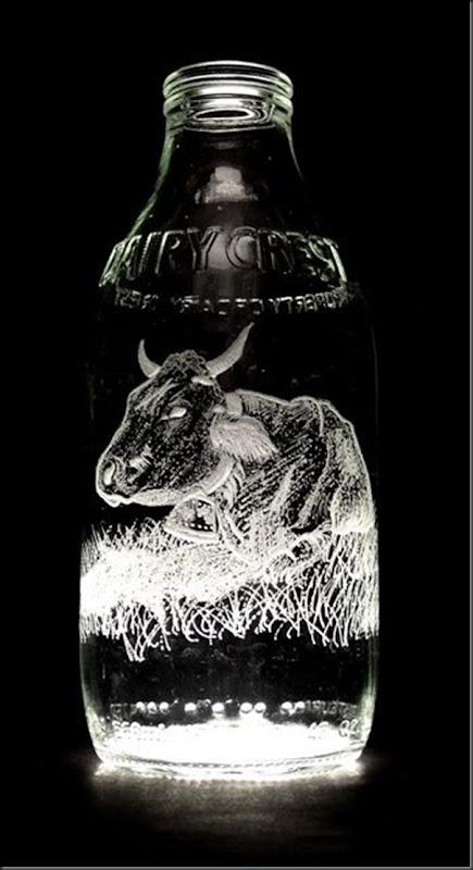 Arte na garrafa de leite por Charlotte Hughes-Martin (18)