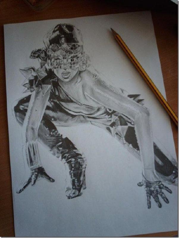 50 desenhos feitos por fãs de Lady Gaga (36)