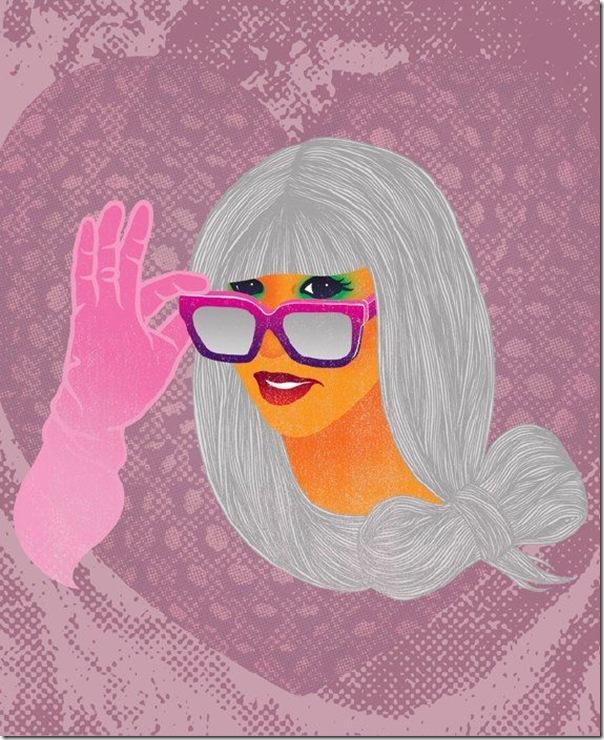 50 desenhos feitos por fãs de Lady Gaga (2)