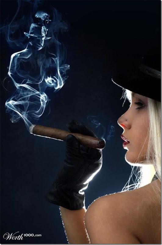 A bela arte feita com a fumaça (9)