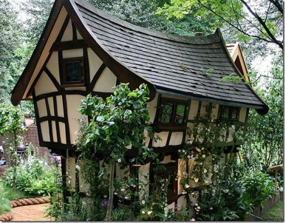 Casas que parecem ter saido de contos de fadas (2)