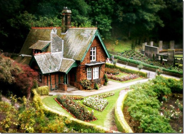 Casas que parecem ter saido de contos de fadas (10)