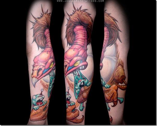 Tatuagens assustadoras por Jesse Smith (4)