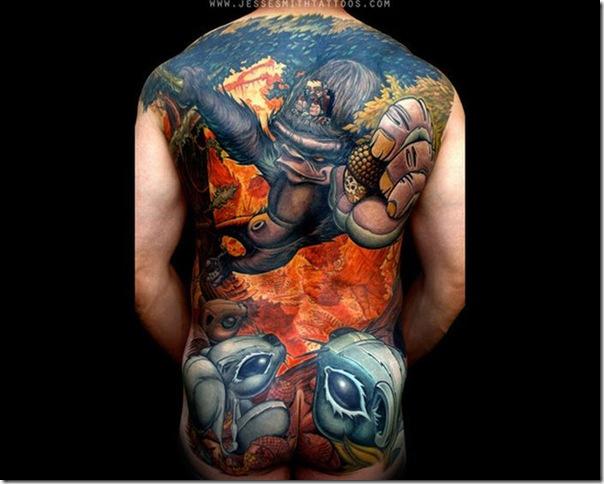 Tatuagens assustadoras por Jesse Smith (1)