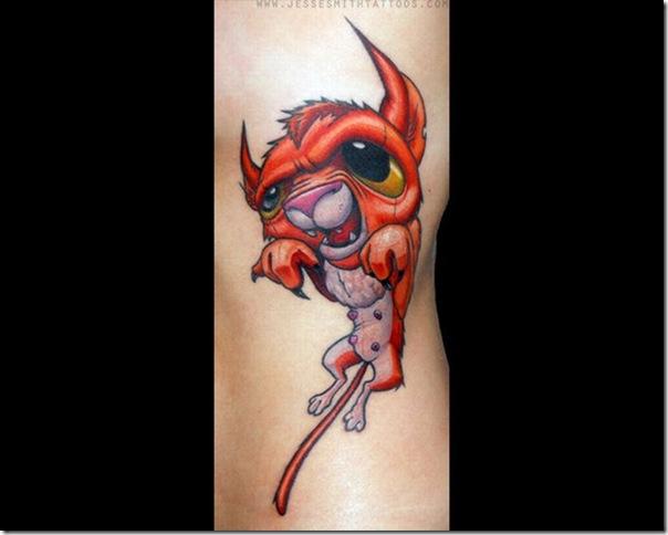 Tatuagens assustadoras por Jesse Smith (14)