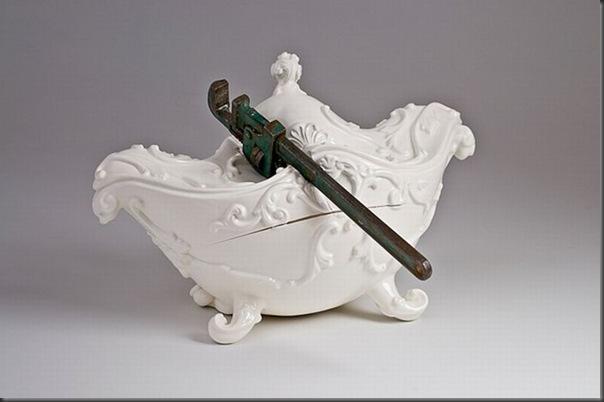 Esculturas de porcelana bem diferentes e criativas (5)