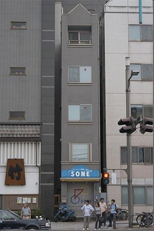 Prédios japoneses finos (9)