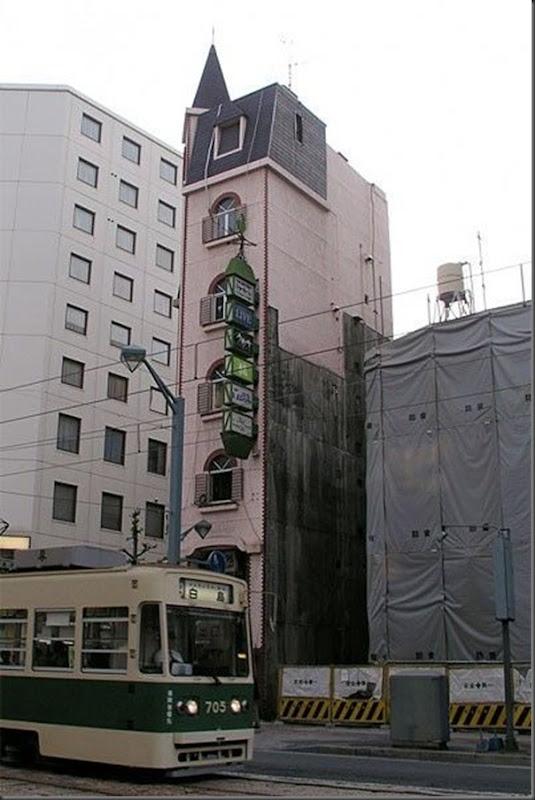 Prédios japoneses finos (4)